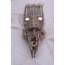 Masque Malinké Guinée Maitre Sculpteur Komandian