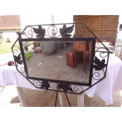 Miroir Art deco Fer Forgé Miroir Bisauté