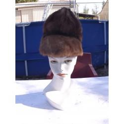 Chapeau en Fourrure Vintage