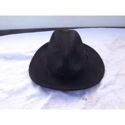 """Chapeau Feutre noir Ancien """" CAPO """""""
