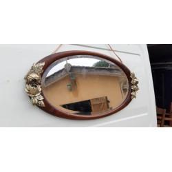 Miroir Année 20 Acajou