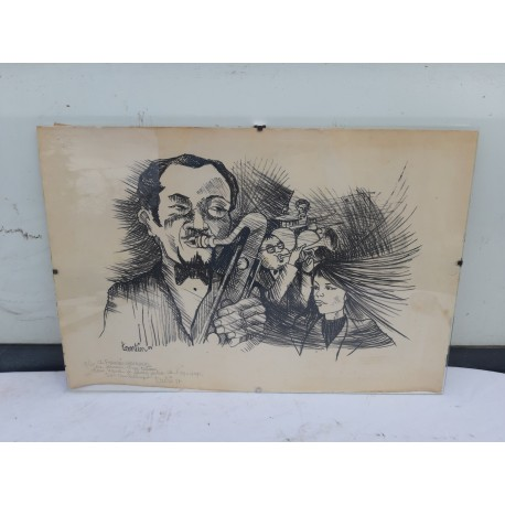 Lithographie TANTIN 87