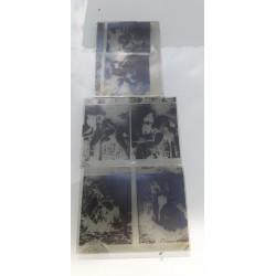 """3 Plaques de Verre Photographique """" érotiques"""" des Années 1900"""