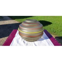 Vase Boule des Verreries de Fains