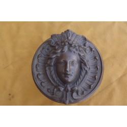 Poignée de Porte Art-nouveau Cuivre et Bronze