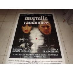 """Affiche de Cinema """"Mortelle Randonnèe """""""